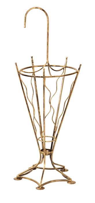 Dekorativer Regenschirmständer aus Metall Modell 115