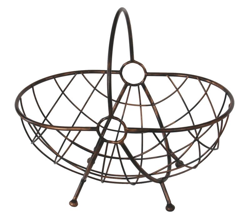 Dekorativer Korb aus Metall Modell 116