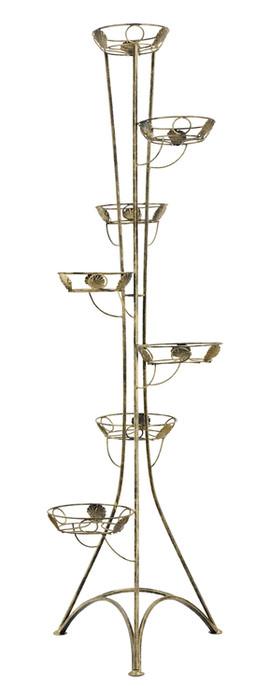 Blumenständer aus Metall im Säule Desing Modell 131