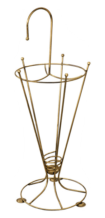 Dekorativer Regenschirmständer aus Metall Modell 157