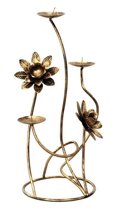 Dekorativer Kerzenständer aus Metall Modell 176