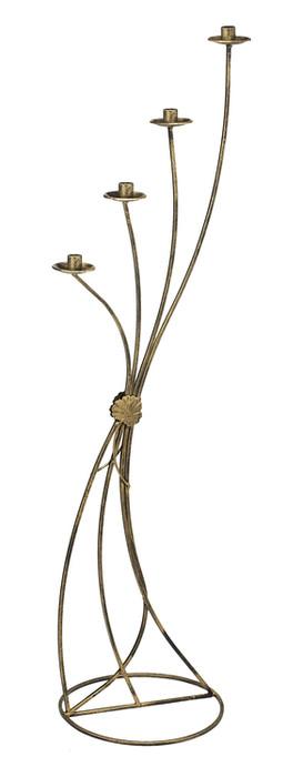 Dekorativer Kerzenständer Hoch aus Metall Modell 19