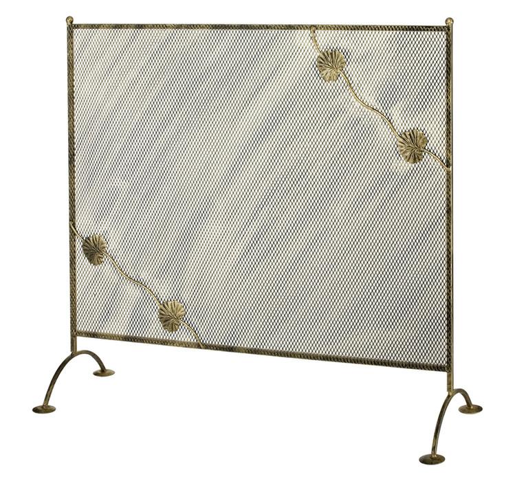 Stilvolle Kaminschutzgitter aus Metall Modell 191