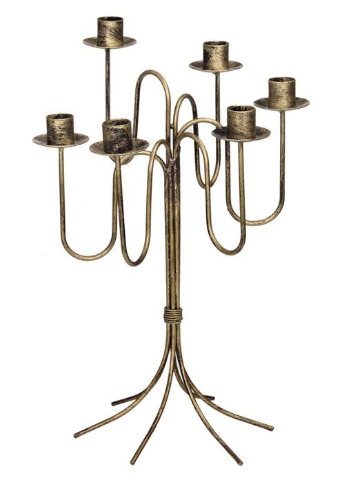 Dekorativer Kerzenständer Klein aus Metall Modell 24