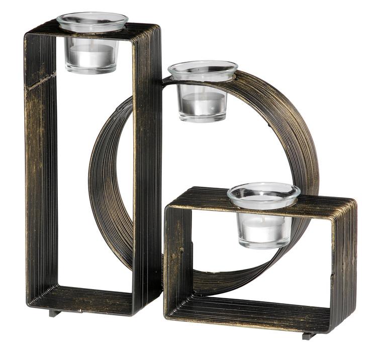 Dekorativer Kerzenständer aus Metall Modell 264