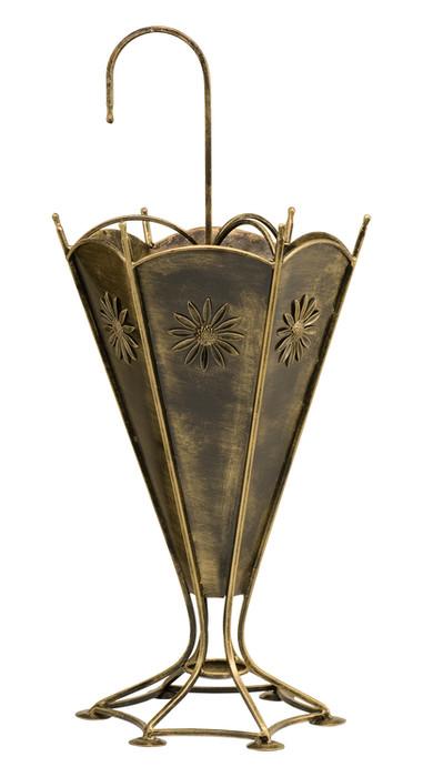 Dekorativer Regenschirmständer aus Metall Modell 330