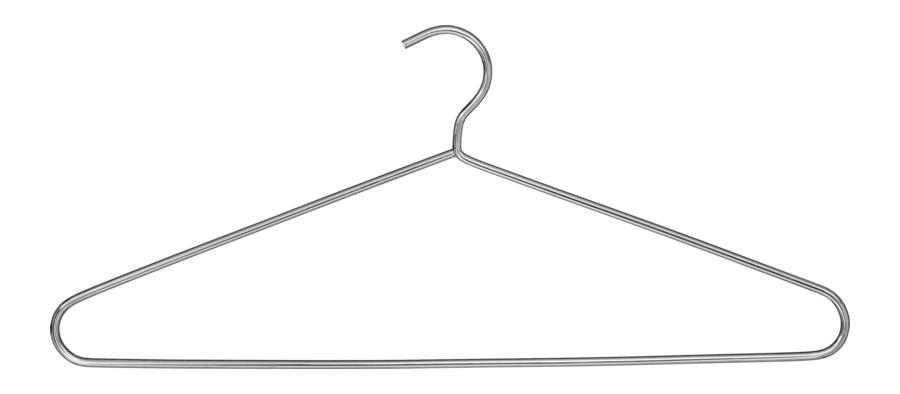Kleiderhaken Chrom Modell 373